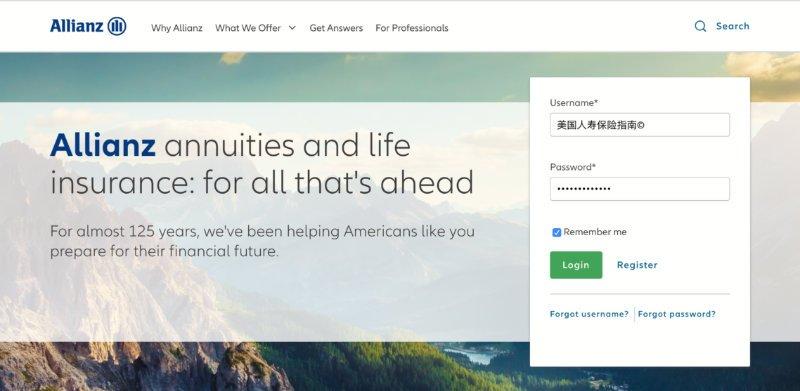 Allianz-annuity-portal