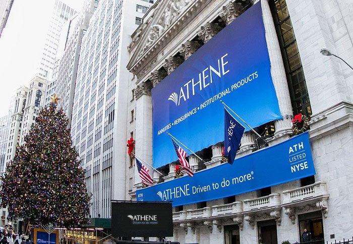 athene-branding-on-new-york-stock-exchange-building