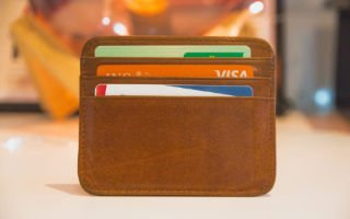 credit card 320