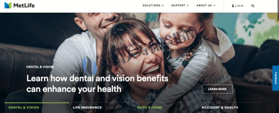 MetLife website portal