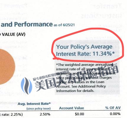 Policy Average Annualized Interest rate